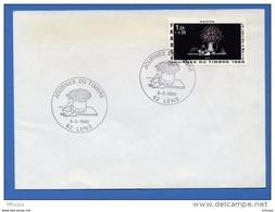 Let058 Cachet GF Journée Du Timbre 08/03/1980 Lens / Lettre - FDC