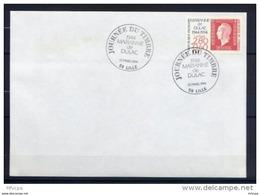 Let252 Cachet GF Premier Jour  JdT Marianne De Dulac  LILLE 12-03-1994 /Lettre - Marcophilie (Lettres)