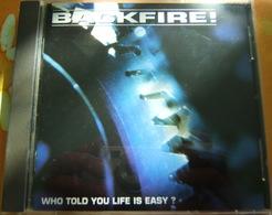 CD  HARDCORE - BACKFIRE / WHO TOLD TOU LIFE IS EASY ? - Hard Rock & Metal