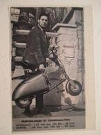 Scooter MINISCOOT SKIPPER - Coupure De Presse De 1960 - Motor Bikes