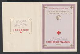 CARNET CROIX ROUGE    -  ANNÉE 1958 -    N° 2007  - - Markenheftchen
