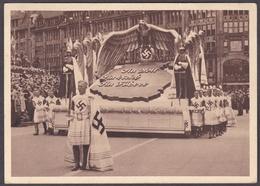 Wlk_ Deutsches Reich - Propagandakarte 5. Reichstagung KdF Kraft Durch Freude 1939 - Sonderstempel Hamburg - Storia Postale