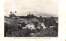 Panorama De La Montagne Pelée Et Maison De Santé - Other
