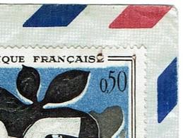 1319 G Braque Variété Tableau Avion 1962 Paris - Curiosidades: 1960-69 Cartas