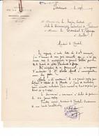 Correspondance 1929 Espagne Consulat  Nantes Centrale Pénitentiaire Fontevrault Morell - Documentos Históricos