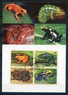 ONU   UNO   Wien   2006   Reptiles Et Batraciens   Endangered Species   Gefährdete Arten - Cartes-maximum