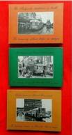 3 Livres Tramway Urbain Belge / Tramways Vicinaux De Bruxelles - Tram