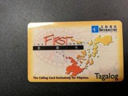 FILPPPINES PREPAID  CARD     Fine Used Card  ** 813** - Filippine
