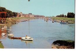 CPM, (80), SAINT-VALERY-SUR-SOMME, Port De Plaisance Jamais Voyagée - Saint Valery Sur Somme