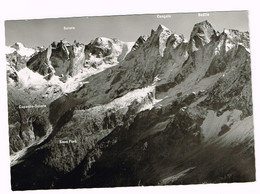 V5012 Sciora - Cengallo - Badile - Capanna Sciora Und Sass Fura / Viaggiata 1969 - GR Grisons