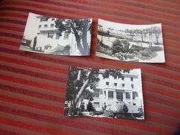 DEPT 83  3CP VERITABLES PHOTOS SANARY SUR MER MAISON DE REPOS LA MICHELINE  NON VOYAGEE  RECO/VERSO - Sanary-sur-Mer