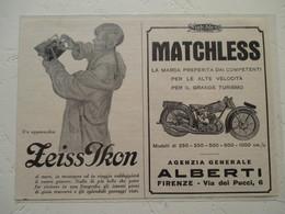 """Motocyclette   """" MOTO MATCHLESS   """" - Coupure De Presse De 1929 - Motos"""