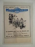 """Vélo Motocyclette Scooter Moto  """"  MAGNAT DEBON  Dijon  """" - Coupure De Presse De 1957 - Motos"""