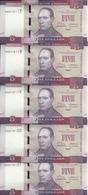 LIBERIA 5 DOLLARS 2016 UNC P 31 ( 5 Billets ) - Liberia