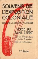 """Dépliant """" Souvenir De L' Exposition Coloniale """" Vincennes 1931 / Pères Du Saint Esprit - Old Paper"""
