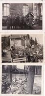 4 Originalfotos Von Deutschen Soldaten In Nevers 1941 - Krieg, Militär