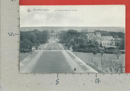 CARTOLINA NV BELGIO - BRUXELLES - LAEKEN - Le Chateau Royal Et Le Parc - 9 X 14 - Monumenti, Edifici
