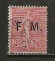FRANCE:, Obl., FRANCHISE N° YT 4, TB - Franchise Stamps
