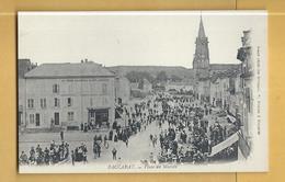 C.P.A. BACCARAT - Place Du Marché - Baccarat