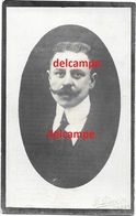 Oorlog Guerre Karel Waegenaer Zelzate Spion Douanier Verzetsman Gefusilleerd Te Gent September 1917 Gesneuveld Boekhoute - Devotieprenten