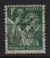 Type Iris - 1f Perfore S Du Senat - Oblitere - 1939-44 Iris