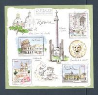 BLOC N° 53 - CAPITALES EUROPÉENNES   - ROME  2002 - Blocchi & Foglietti