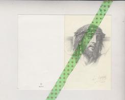 André Dermauw-Wyseur, Wevelgem 1911, Genappe 1988 - Décès