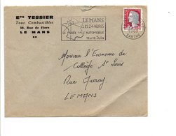 FLAMME 24 HEURES DU MANS 1963 - Mechanische Stempels (reclame)
