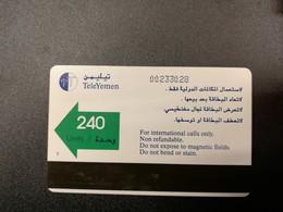 YEMEN  160 UNITS    AUTELCA   FINE USED    ** 825** - Jemen