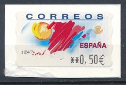 Spanien Automatenmarke 0,50 € Sonne - 1931-Hoy: 2ª República - ... Juan Carlos I