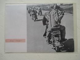 "Motocyclette  ""  MOTO Motard  Cameraman Du Tour De France  "" - Coupure De Presse De 1961 - Motos"