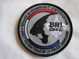 ECUSSON POLICE NATIONALE DCPJ LA BRI DE CREIL ETAT EXCELLENT SUR VELCROS - Police & Gendarmerie