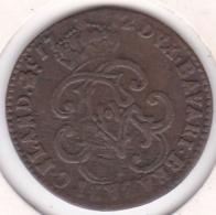 Belgique Liard 1712 Namur. Maximilien-Emanuel De Bavière (1711-1714) KM# 18 - Belgique