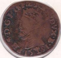 Belgique Duché De BRABANT, Liard 1591 Bois Le Duc. Philippe II - Belgique