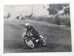 Circuit Montlhery -  Motocyclette MOTO    - Coupure De Presse De 1960 - Motos