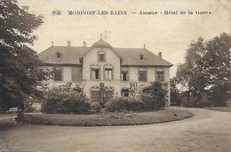Luxembourg )  MONDORF Les BAINS - Annexe Hotel De La Gare Propriétaire Huss Teyter Téléphone 10 - Mondorf-les-Bains
