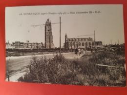 CPSM. 118. DUNKERQUE (Nord) - (après Guerre 1939-45) Rue Alexandre III - E.C. - Dunkerque