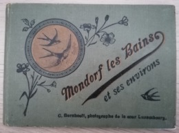 Mondorf Les Bains Et Ses Environs * Carnet 24 Vues - Bilderheftchen 24 Ansichten - C.Bernhoeft - Bad Mondorf