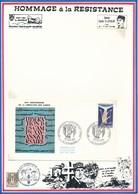 FRANCE- ENVELOPPE OBL. 25E ANNIVERSAIRE LIBERATION DES CAMPS 27.06.70 STRASBOURG - Guerre Mondiale (Seconde)