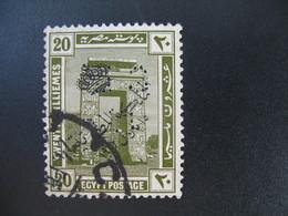 Perforé Perfin Lochung , Egypte   See, à Voir         CLC - Égypte