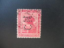 Perforé Perfin Lochung , Egypte   See, à Voir         CN - Égypte