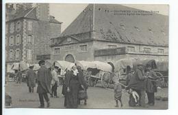 Coutances La Halle Aux Grains , Ancienne Eglise Des Capucins - Coutances