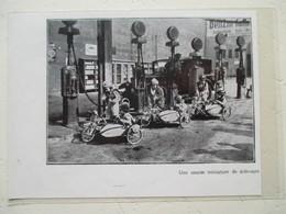 BERLIN Kinderrennen - Course Enfantine MOTO SIDE-CARS - Child Racing  - Coupure De Presse De 1931 - Motos