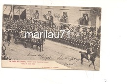 P1144 Lazio ROMA Visita Loubet Presidente Francia 1904 Viaggiata - Altri