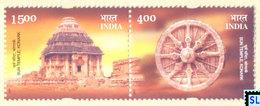 India Stamps 2001, Sun Temple, Konark, MNH - Other