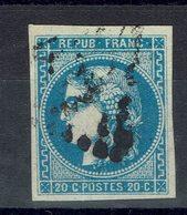 Fr - N° 46 B Oblitéré TB - - 1870 Emissione Di Bordeaux
