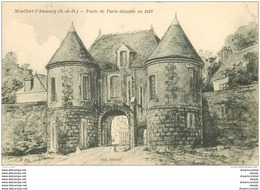 78 MONTFORT-L'AMAURY. Porte De Paris - Montfort L'Amaury