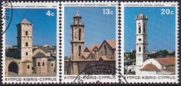 Cyprus 1983 SG #625-27 Compl.set Used Christmas. Church Towers - Cyprus (Republic)