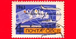 RUSSIA - Usato - 1963 - Settimana Internazionale Della Scrittura Delle Lettere, 1963 - 4 K - 1923-1991 USSR