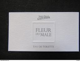 Carte Parfumée Jean Paul Gaultier Fleur Du Male - Perfume Cards